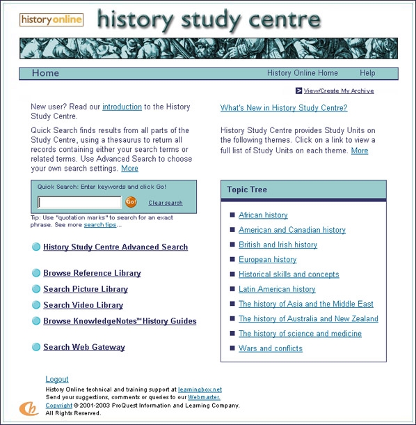 online history courses